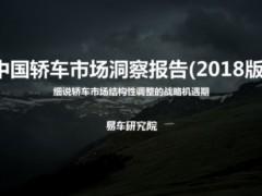 易车研究院发布《中国轿车市场洞察报告》